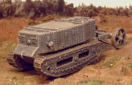 how to draw a ww1 tank