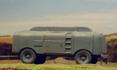Luftwaffe Fuel Trailer  - Matador Models